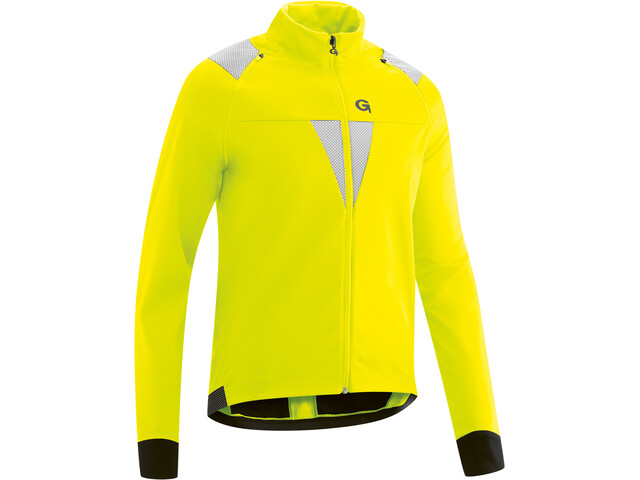 Gonso Asson Veste Softshell À Manches Amovibles Homme, safety yellow